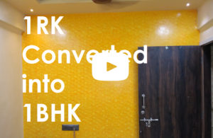 1RK Converted into 1BHK