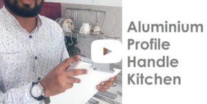 Aluminium Profile Handle Kitchen