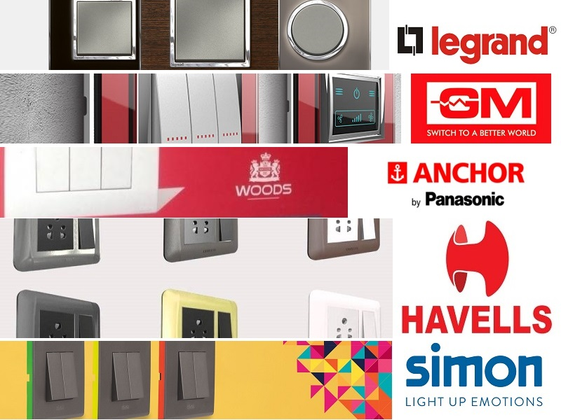 Top 5 Modular Switches Brand In India