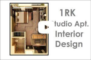 Xrbia Balewadi Pune - 1RK Studio Apartment Interior Design Proposal