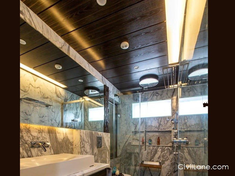 Bathroom false ceiling alternative materials and costing for 8x4 bathroom designs