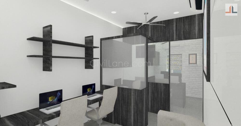 Office Interior Design 500 Square Feet Civillane